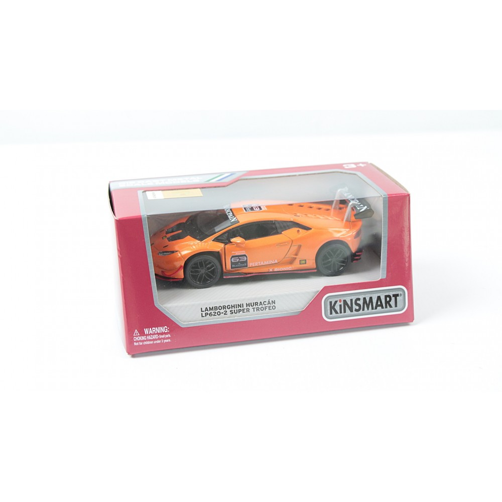 "KINSMART Мет. машина ""Lamborghini Huracan - LP620-2 SUPER TROFEO"""