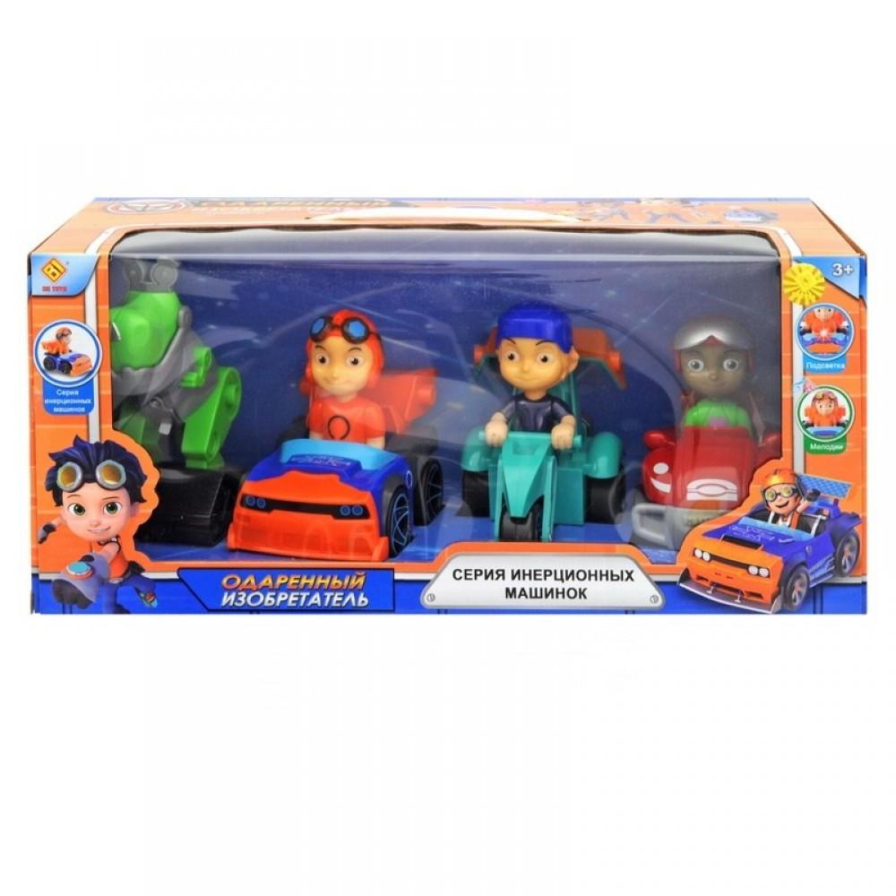 """Машина """"Одаренный изобретатель"""" в коробке"""