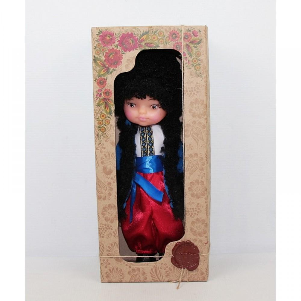 """Кукла """"Українець у хутряному жупанii"""" в коробке ЧУДИСАМ"""