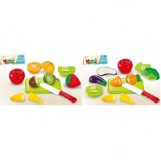 Продукты - фрукты и овощи в пакете