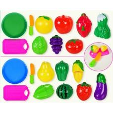 Продукты - фрукты и овощи в сетке