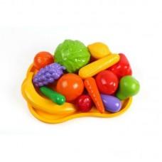 Продукты - фрукты на подносе ТЕХНОК