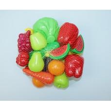 Продукты - фрукты, овощи 24 шт в сетке ОРИОН