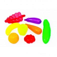 Продукты - фрукты, овощи 8 шт в сетке ОРИОН