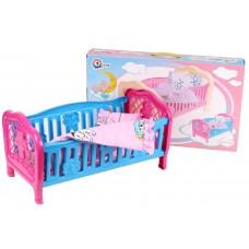 Кроватка - колыбель с бельем в коробке ТЕХНОК