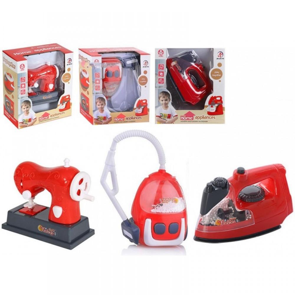 Бытовая техника - пылесос/швейная машинка/утюг в коробке
