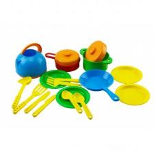 Посуда в сетке с кастрюлями ОРИОН