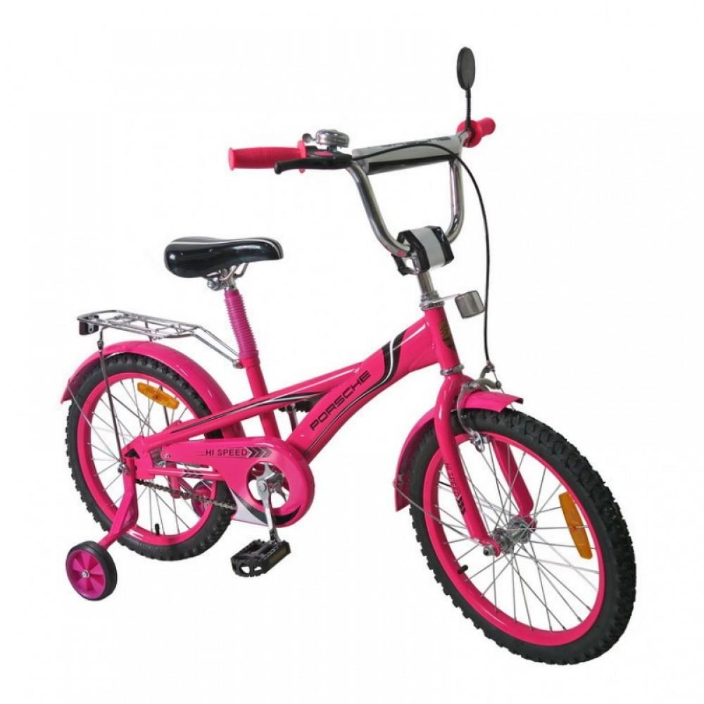 """Велосипед """"PORSCHE"""" розовый 18"""""""