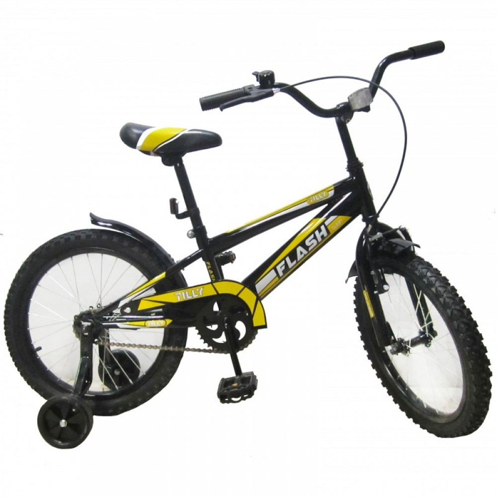 """Велосипед """"TILLY FLASH"""" желтый 18"""""""