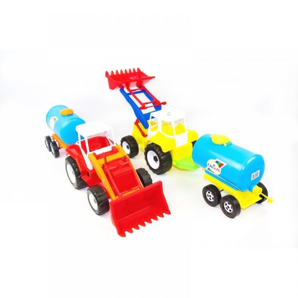 ОРИОН Трактор с ковшом и бочкой