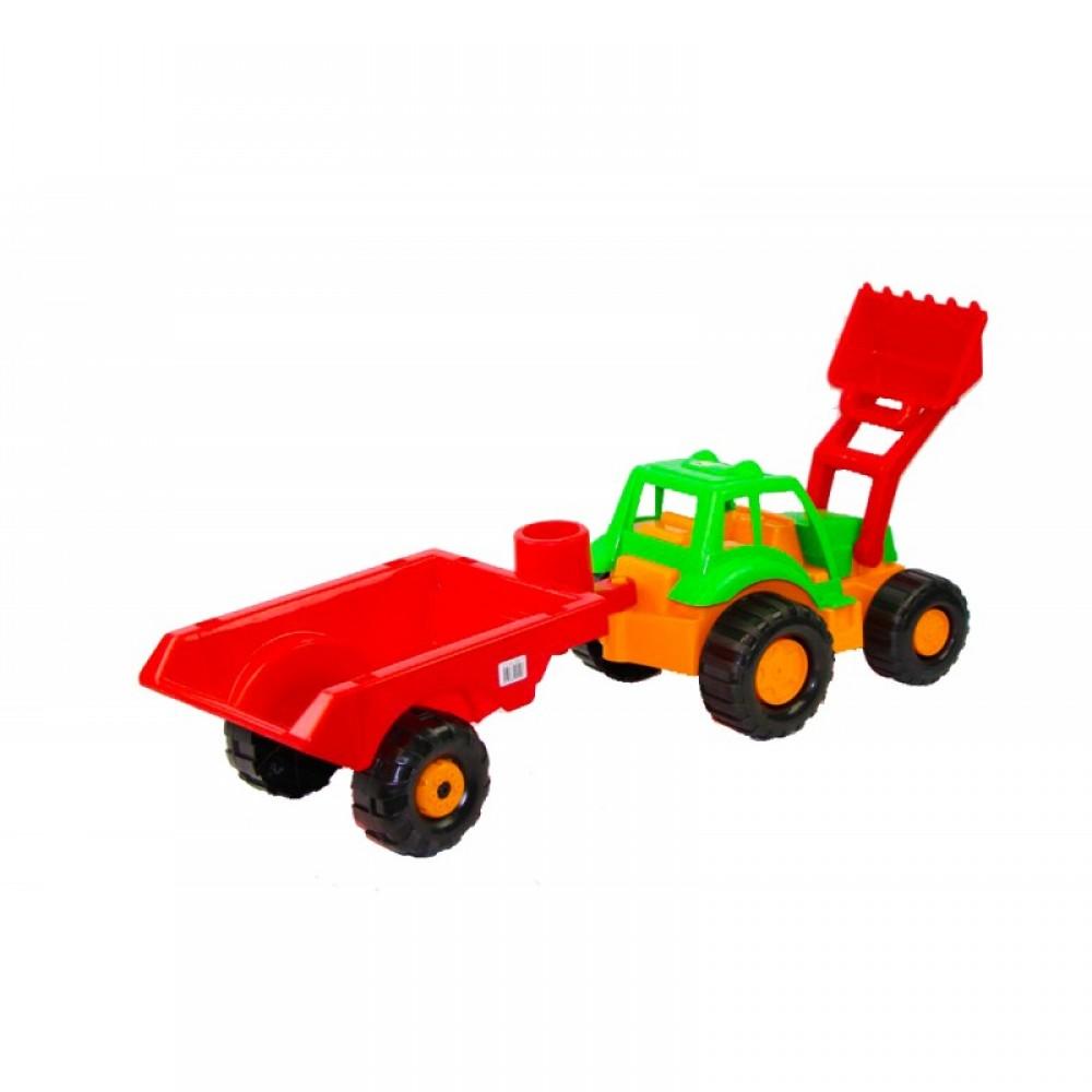 ОРИОН Трактор с ковшом и прицепом