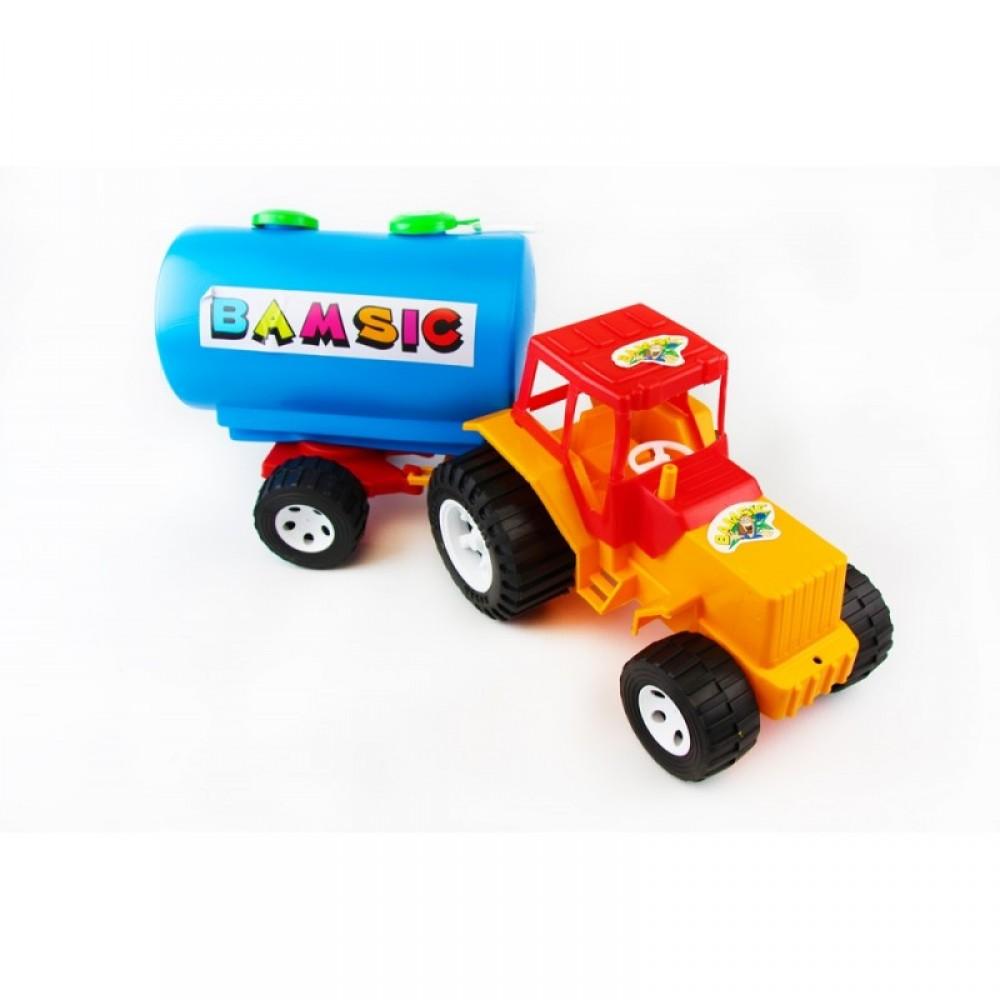 БАМСИК Трактор с бочкой