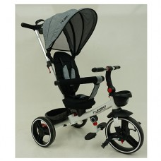 Трехколесный велосипед TURBOTRIKE М 5447PU-19 Серый