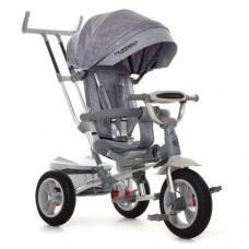 Велосипед трехколесный TURBOTRIKE M 4058-19 Серый