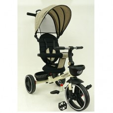 Трехколесный велосипед TURBOTRIKE М 5447PU-7 Бежевый