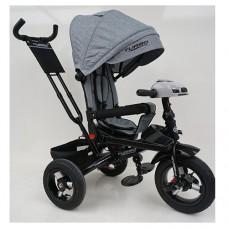 Велосипед трехколесный TURBOTRIKE М 5448HA-19L Серый