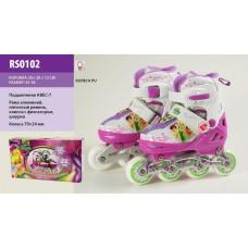 Ролики Disney Fairies (RS0102) колеса PU