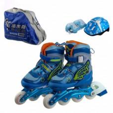 Ролики H11 31-34 синие