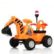 Электромобиль ТРАКТОР Bambi M 4143L-7 Оранжевый