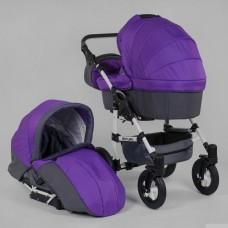 Коляска для детей Saturn НОВАЯ № 0140-С12 цвет фиолетовый