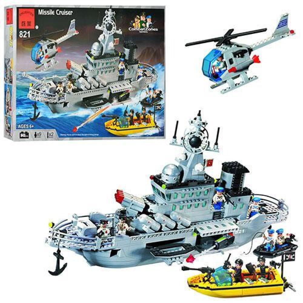 Детский конструктор BRICK Морская серия 821