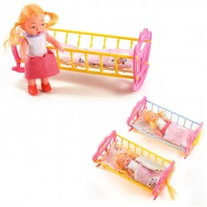 Кроватка с куколкой
