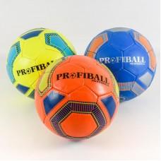 Мяч футбольный 2500-133 (30шт) размер 5, ПУ1,4мм
