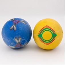 Мяч футбольный, размер 5, резиновый 320г, 3 цвета