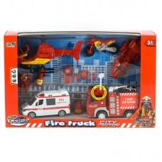 Набор спасателей, пожарные