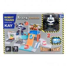 """Паркинг """"Робот Поезд"""" + трансформер Kay"""