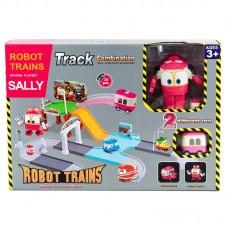 """Паркинг """"Робот Поезд"""" + трансформер Selly"""