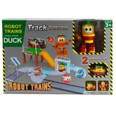 """Паркинг """"Робот Поезд"""" + трансформер Duck"""
