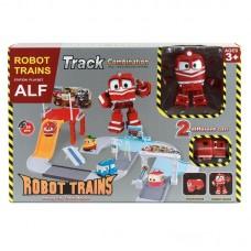 """Паркинг """"Робот Поезд"""" + трансформер Alf"""