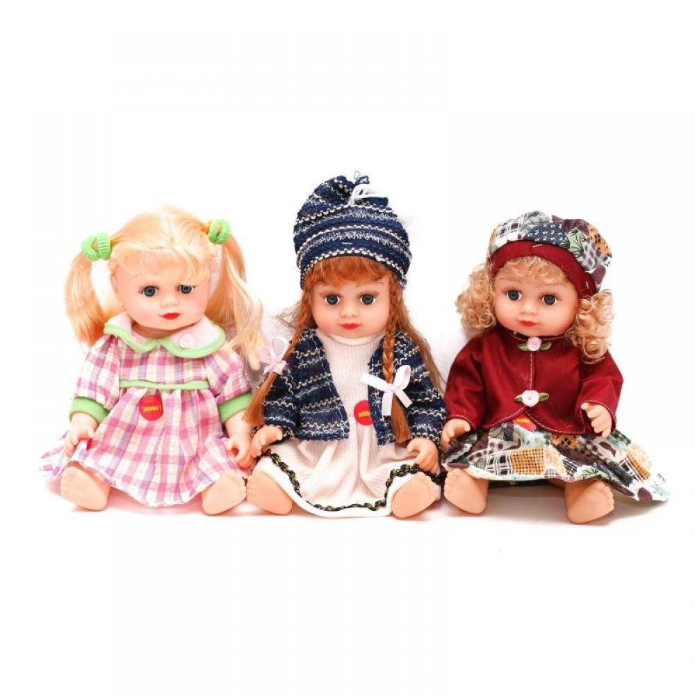 JT Кукла АЛИНА 5066/69/75/76 (36шт) 29см, муз, зву