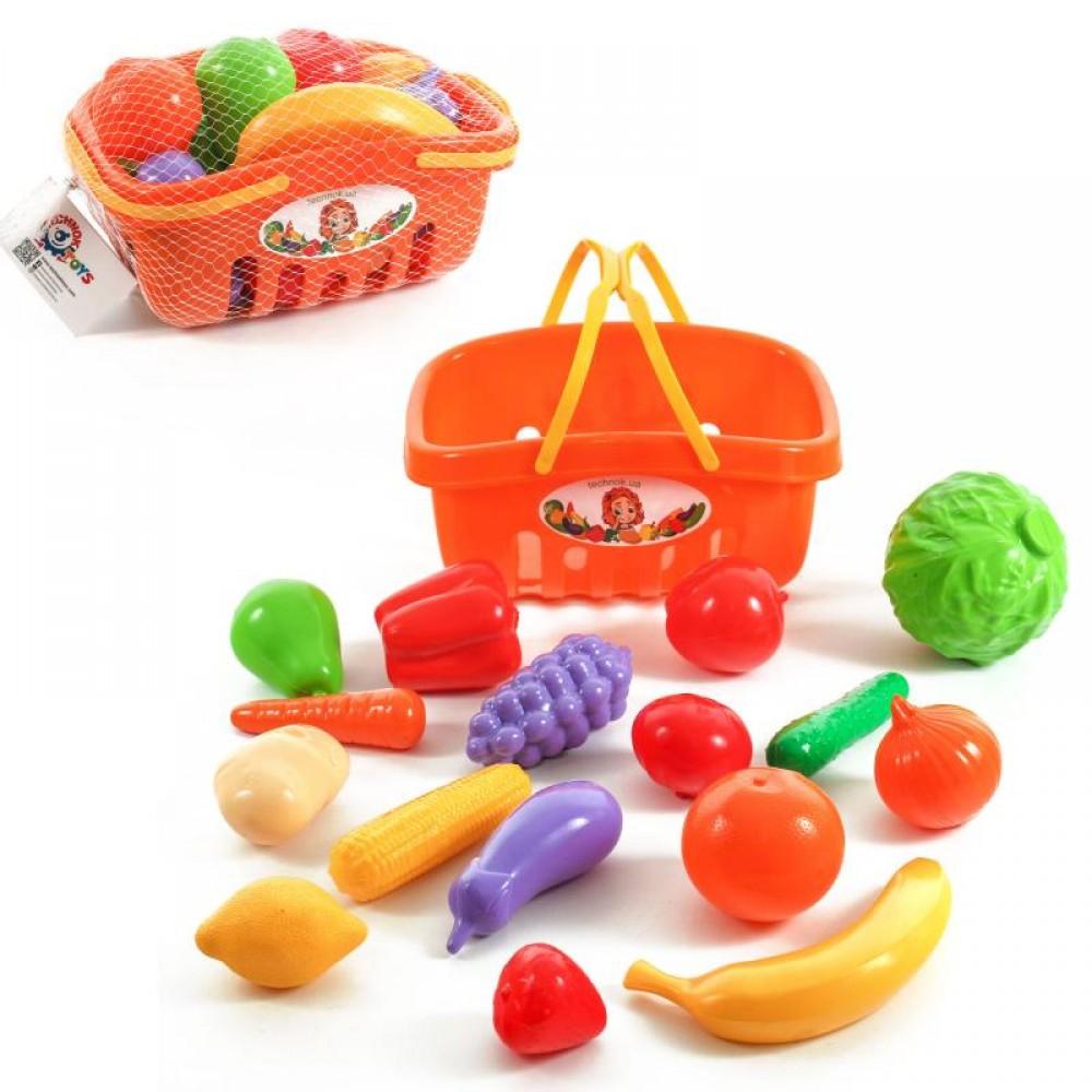 Набор продуктов в корзинке
